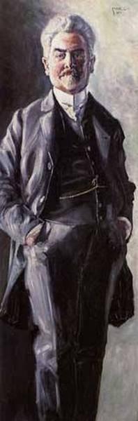 Portrait of Leopold Czihaczek Standing 1907